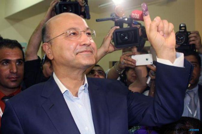 barham salih, presiden irak, irak,