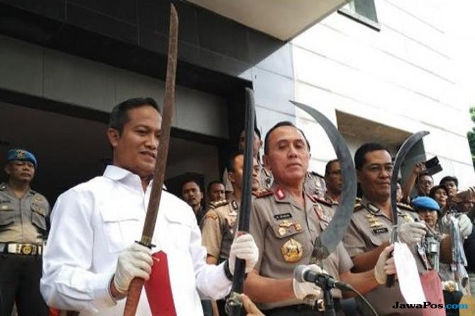 Bawa Sajam, Peserta SOTR Diciduk Polisi