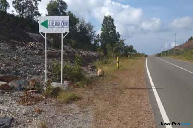 Jalan Relawan Jokowi