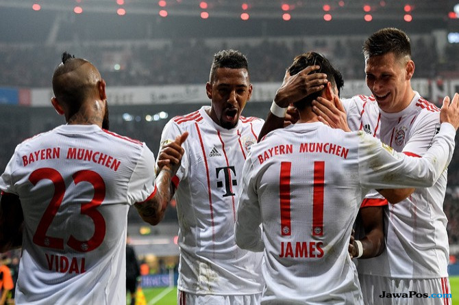 BayArena Tak Lagi Angker Bagi Bayern, Menang 3-1 atas Leverkusen