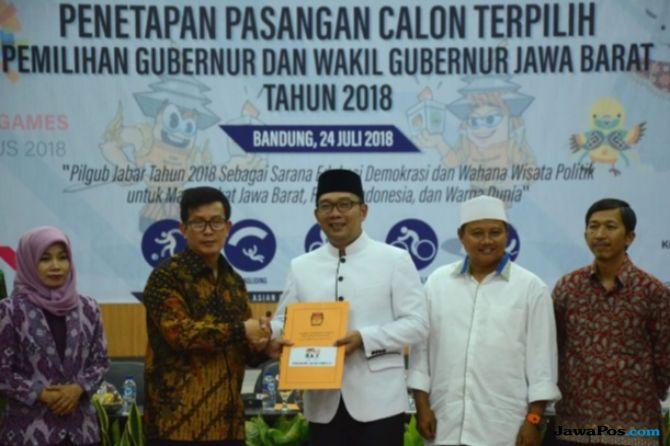 Begini Acara Penyambutan Ridwan Kamil Jadi Gubernur Jawa Barat