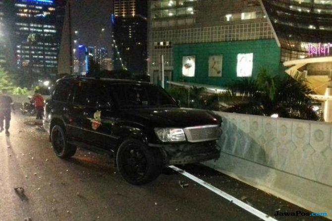 Begini Kronologi Kecelakaan Marko Simic Tabrak Mobil Polisi