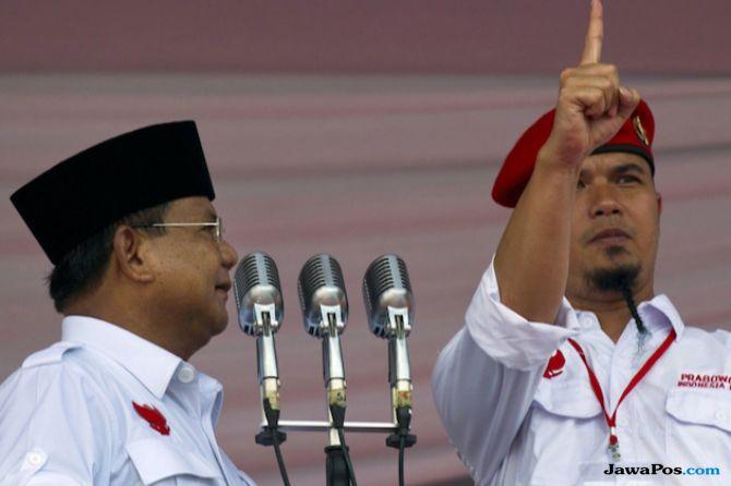 Prabowo, Ahmad Dhani