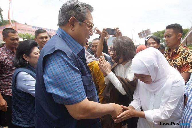 Begini Respon Khofifah Kala SBY Panggil Budhe