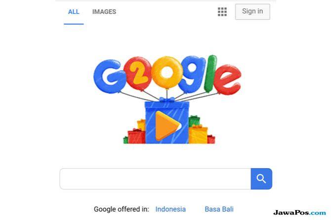 Google Ulang Tahun, Ulang Tahun Google, Google Doodle Ultah