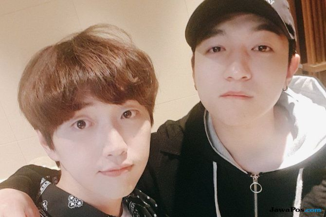 Bersahabat, Sungjin Day6 dan Sandeul B1A4 Bersaing Sejak SD