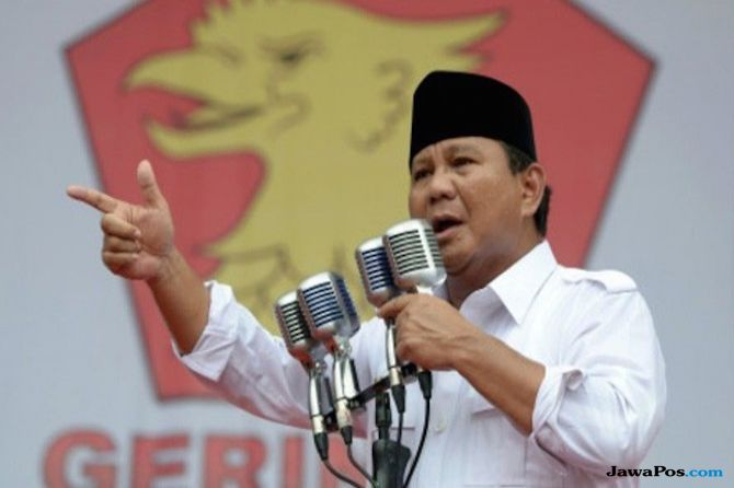 Bertelanjang Dada, Ini Video Kemeriahan Prabowo Terima Mandat Capres