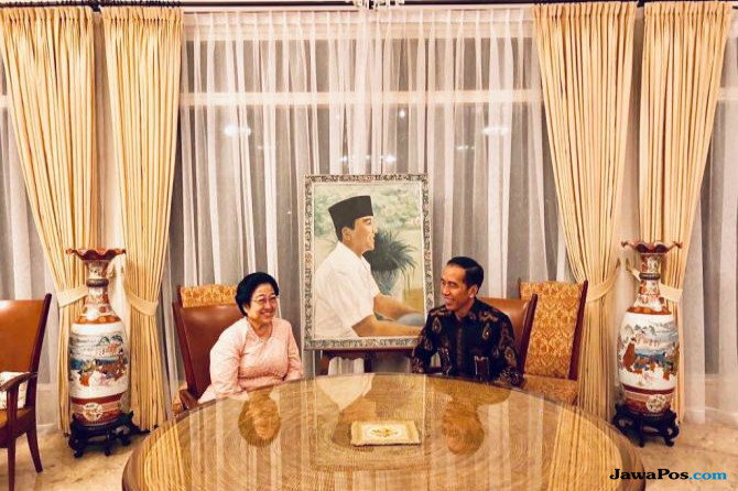 Bertemu, Ini Pesan Megawati ke Jokowi dalam Memilih Cawapres