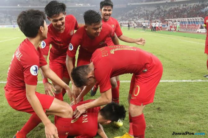 Piala Asia U-19 2018, Timnas U-19 Indonesia, Timnas U-19 Taiwan, Indonesia U-19 menang 3-1