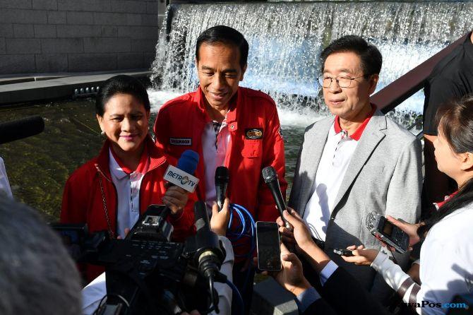 Blusukan Di Korea, Jokowi Bawa Pulang Rp 91,7 Triliun ke RI