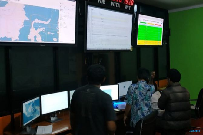 BMKG Cabut Status Potensi Tsunami Gempa Donggala