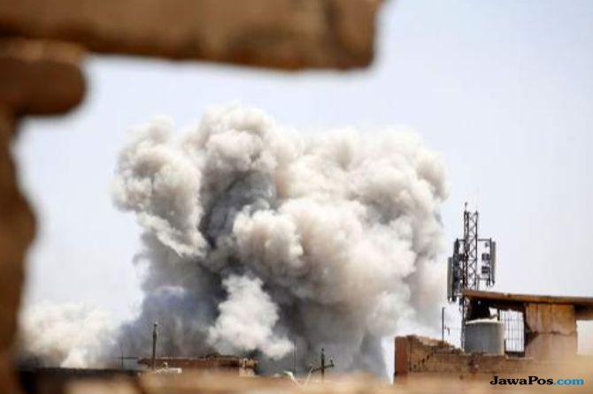 Bom Bunuh Diri ISIS Meledak di Syria, Puluhan Orang Tewas