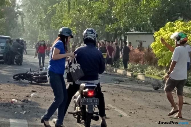 Bom di Surabaya, Pemuda Pancasila: Tangkap Pelaku ke Akar-akarnya