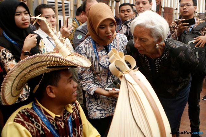 Bos IMF Bicara Soal Ekonomi Global yang Belum Cukup Kuat