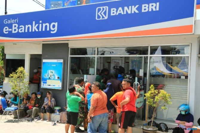 BRI, Bank Pelat Merah Pertama yang Beroperasi Pasca Gempa Sulteng