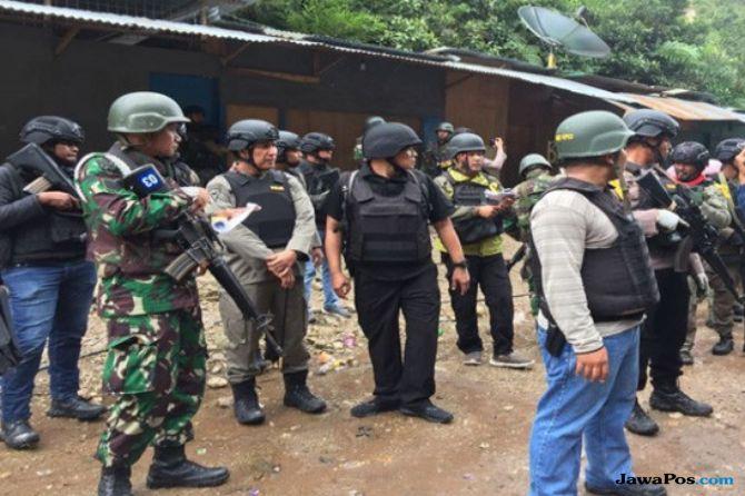 Brimob Kembali Kontak Senjata dengan KKB di Papua