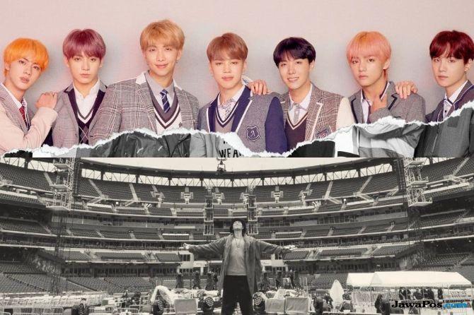 BTS Jadi Artis Korea Pertama yang Gelar Konser di Citi Field, Amerika