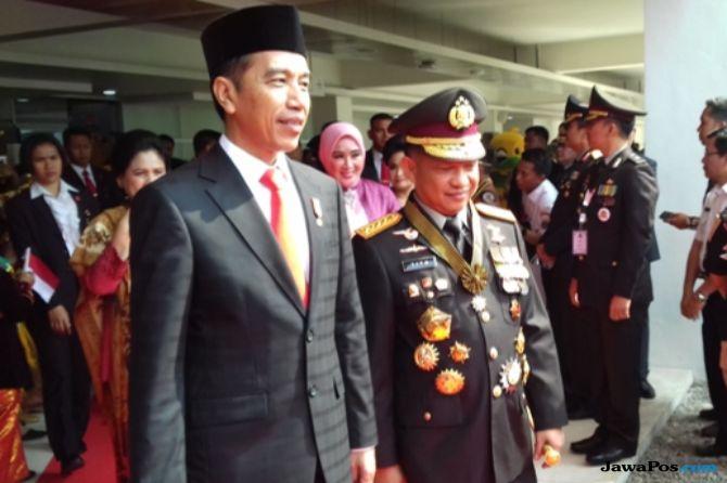 Buang Budaya Koruptif, Begini Amanat Jokowi ke Polri