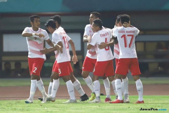 Asian Games 2018, Sepak Bola, Indonesia, Palestina, Laos, taiwan, Hongkong