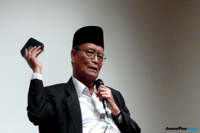 Buya Syafii: Pemimpin Muda Harus Pahami Sejarah Indonesia