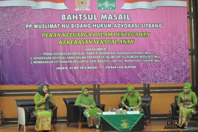 Cegah Kekerasan Seksual Anak, Muslimat NU Ajak Keluarga Ajarkan Akhlak