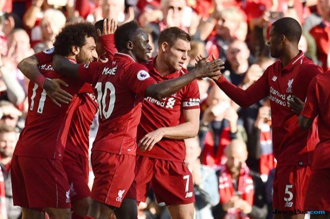 Liga Inggris, Premier league 2018-2019, Liverpool, Brighton & Hove Albion