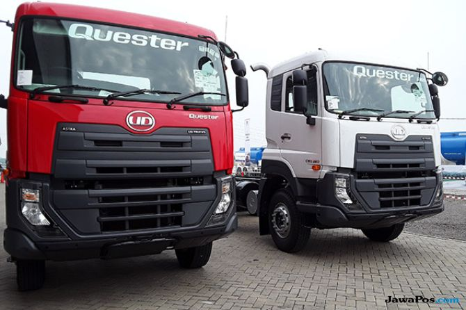 Check and Drive: 60 Pemilik Armada Jajal Keandalan Quester UD Trucks