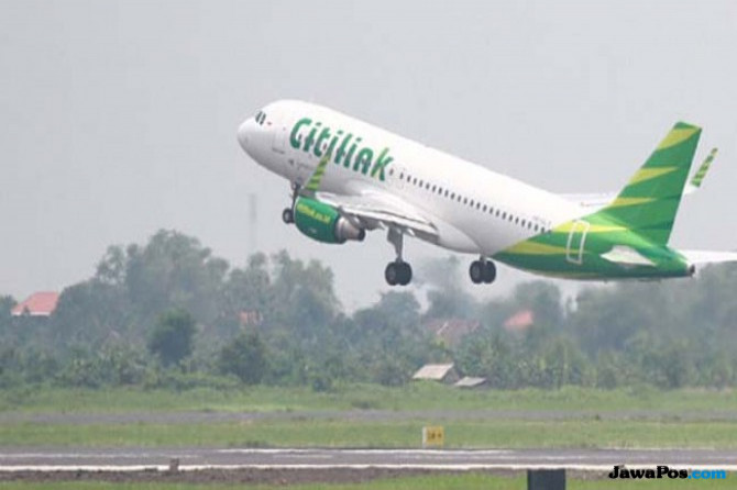 Citilink Buka Ekstra Flight Mudik ke Surabaya Lewat Bandara Kertajati