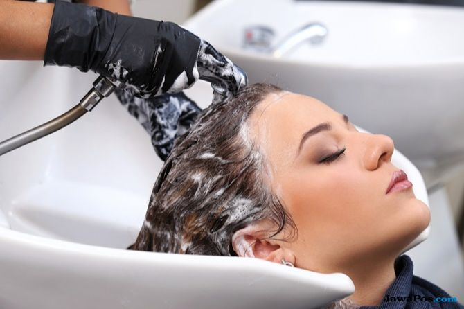 salon muslimah, perawat rambut muslimah,