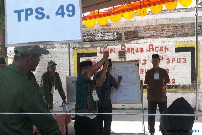 Coblos Ulang di TPS 49, Antusiasme Warga Menurun