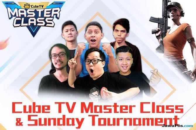 cube tv, Cube TV Masterclass, kompetisi game cube tv