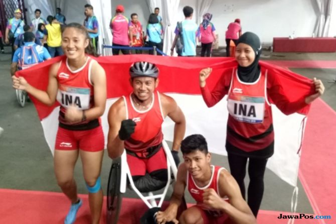 Asian Para Games 2018, INAPGOC, Kemenpora, Indonesia, atletik, estafet