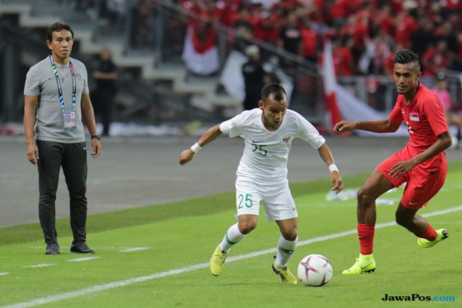 Bima Sakti, Timnas Indonesia, Piala AFF 2018, Singapura