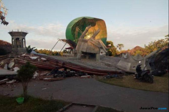 Daerah Lombok Utara Terisolir, Logistik Korban Gempa Terganggu