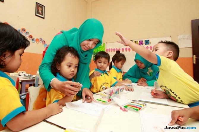 Dana Hibah Rp 40,2 Miliar Mensejahterakan Guru PAUD Jakarta