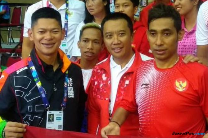 Asian Para Games 2018, INAPGOC, Kemenpora, Indonesia, tenis meja, David Jacobs