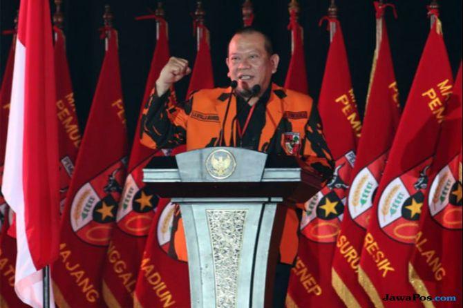 Ketua Majelis Pimpinan Wilayah (MPW) PP Jawa Timur, La Nyalla Mahmud Mattalitti