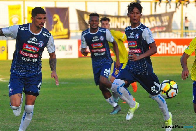 Arema FC, Borneo FC, Milan Petrovic, Liga 1 2018