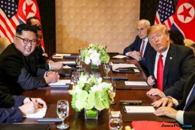 Demi  Kim Jong Un, Trump Hentikan Latihan Militer dengan Korsel