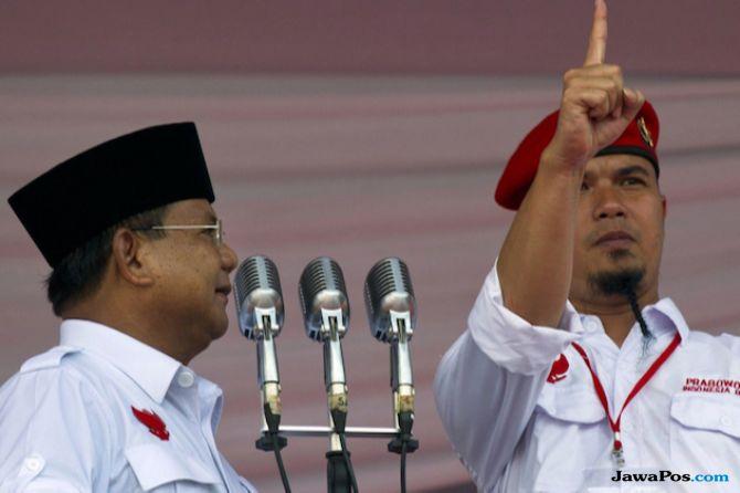 Prabowo dan Ahmad Dhani