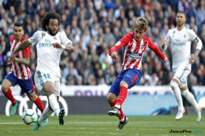 La Liga 2018-2019, Liga Spanyol, Derby Madrid, Real Madrid, Atletico Madrid