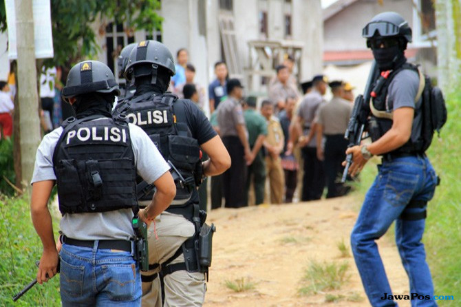 Densus 88 Polri, Terduga teroris, teroris, aksi teror
