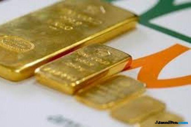 Di Pasar Spot Meredup, Emas Antam Malah Naik Rp 4.000 Per Gram