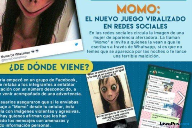 Diduga Bermain dengan Momo Gadis Argentina Bunuh Diri