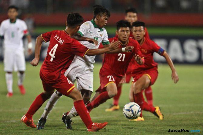 Piala AFF U-16 2018, Timnas U-16, Timnas U-16 Indonesia, Vietnam