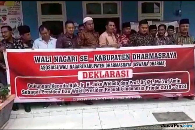 Dilaporkan Pengurus Gerindra, Wali Nagari Pendukung Jokowi Tak Gentar