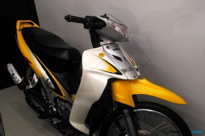 Dilego Rp 80 Juta: Yamaha Langka Berusia 18 Tahun, Jarak Tempuh 20 km