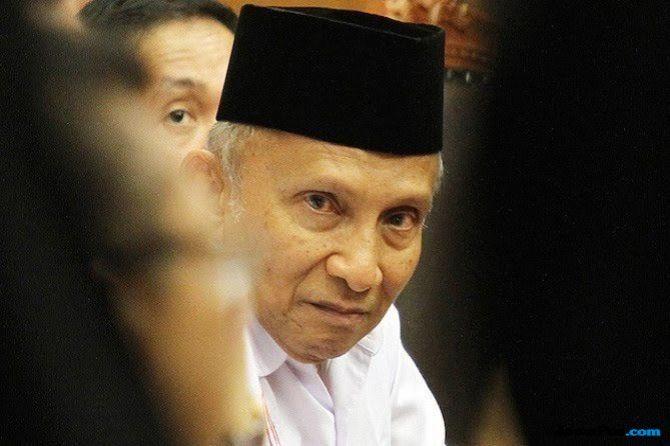 Dipanggil Polda Metro, Amin Rais Mangkir