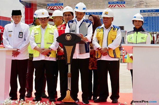 Diresmikan Jokowi, Tol Pejagan-Pemalang Mulai Beroperasi