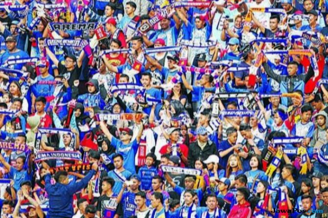 Arema FC, Liga 1 2018, Komdis PSSI, Singo Edan, Arema dihukum komdis, Aremania, Persebaya surabaya